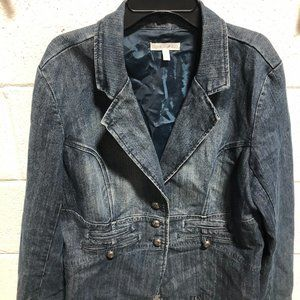 Fashion Bug Women's Denim Jacket, Size 14